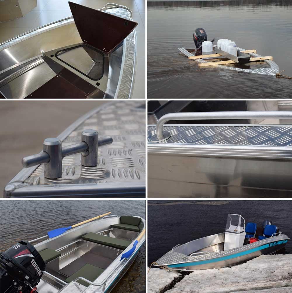 Конструктивные решения лодок Wellboat