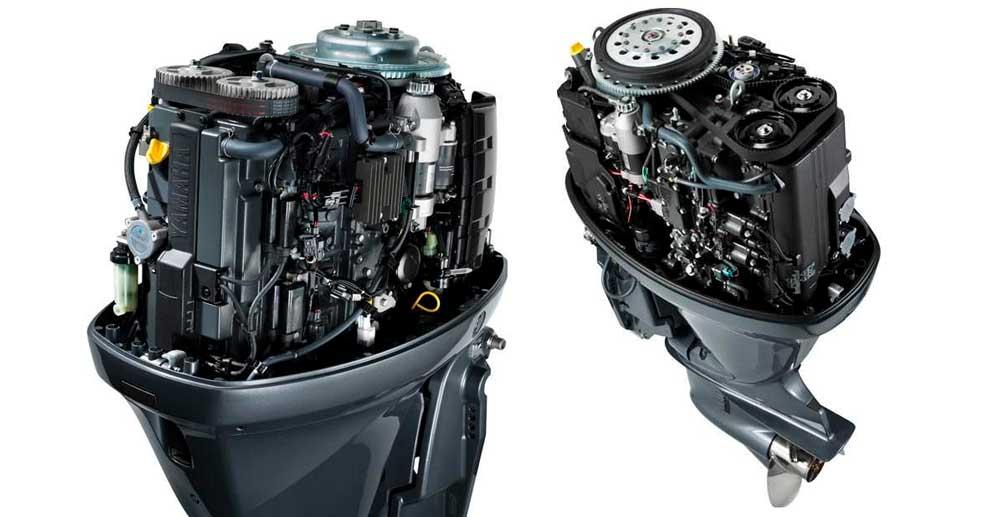 Лодочные моторы четырехтактные