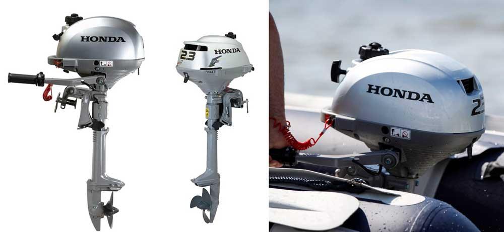 Четырехтактный лодочный мотор HONDA BF2,3D6 SCHU