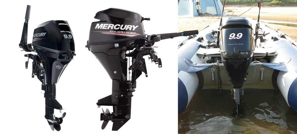 Четырехтактный двигатель Mercury ME F 9.9 M