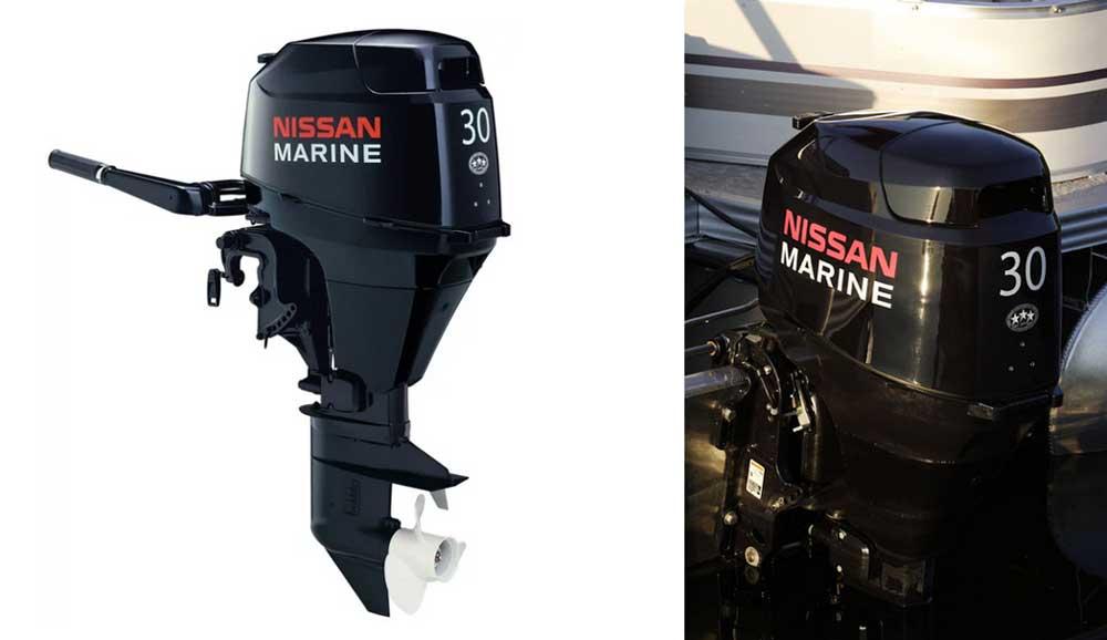 Лодочный мотор Nissan Marine NSF 30 EFI