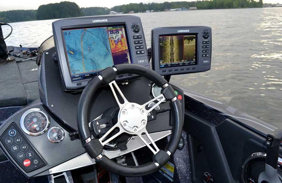 Навигатор на лодке