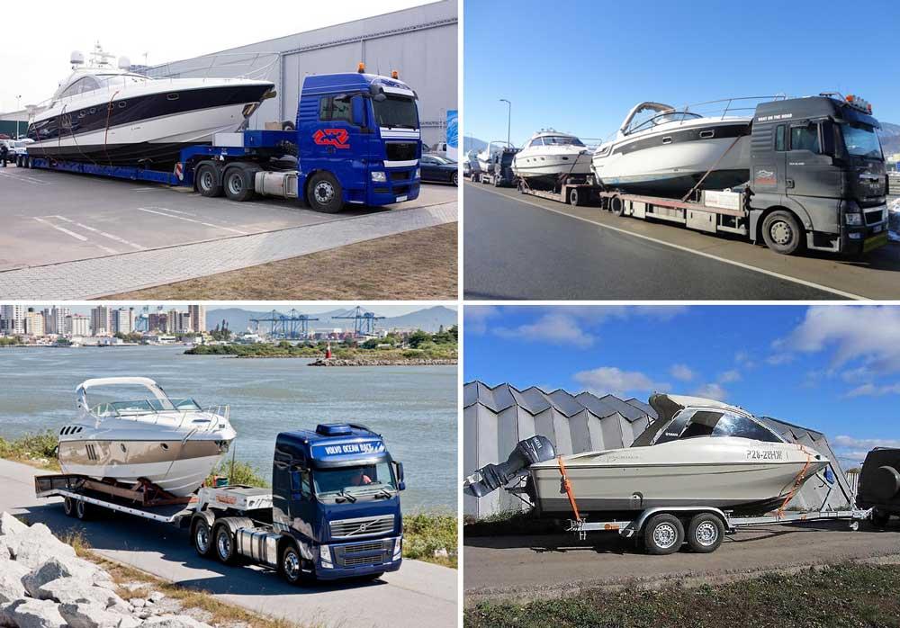 Перевозка катеров по России