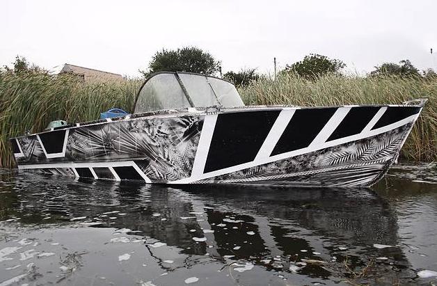 Восстановленная лодка Прогресс