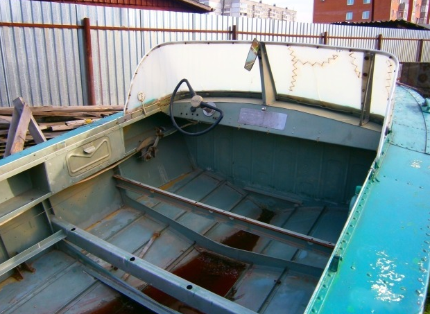 Убитая лодка