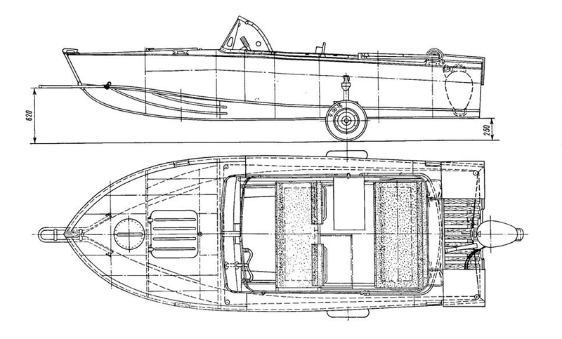 Технические характеристики моторной лодки Прогресс 2