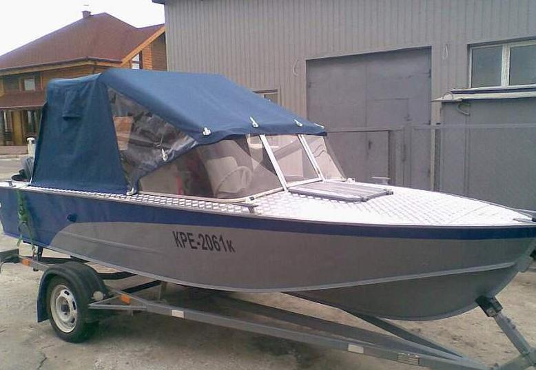Тент на лодке Прогресс 2