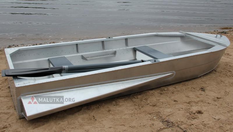 Бюджетная алюминиевая лодка Малютка-Н