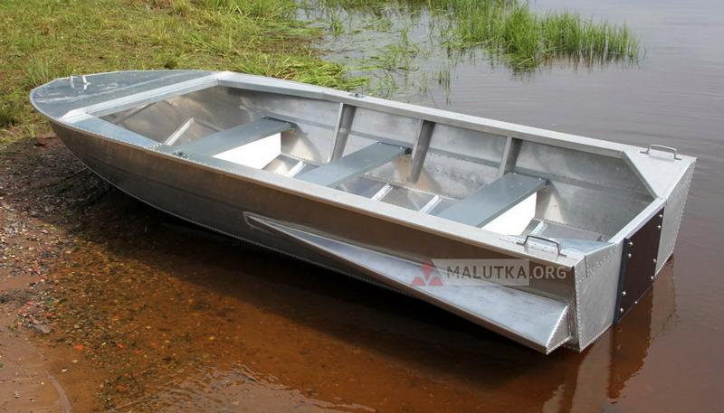 Дюралюминиевая лодка Мста-Н