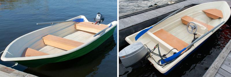 Стеклопластиковая лодка Виза Легант