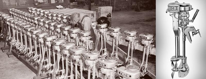 История лодочных моторов Mercury