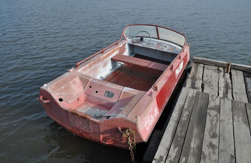 Лодка Обь М фото