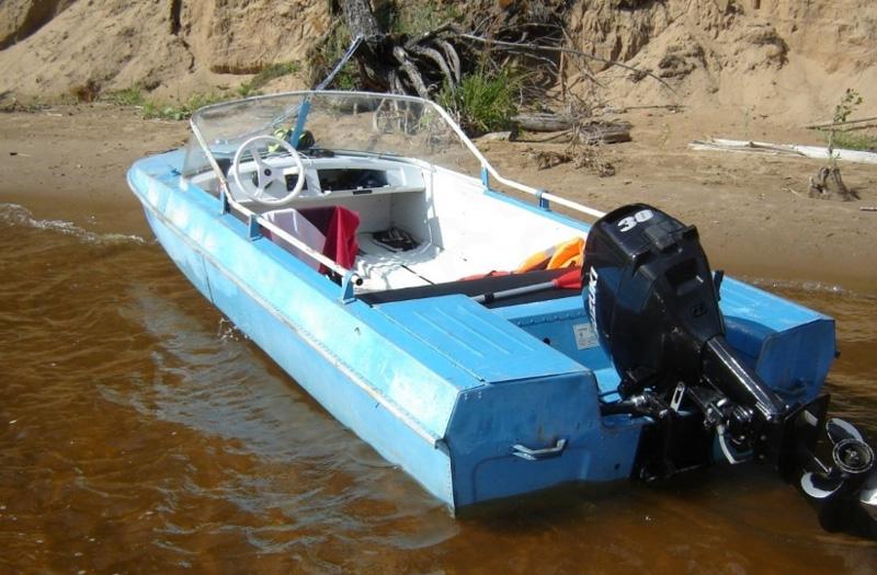 Обь-3 лодка