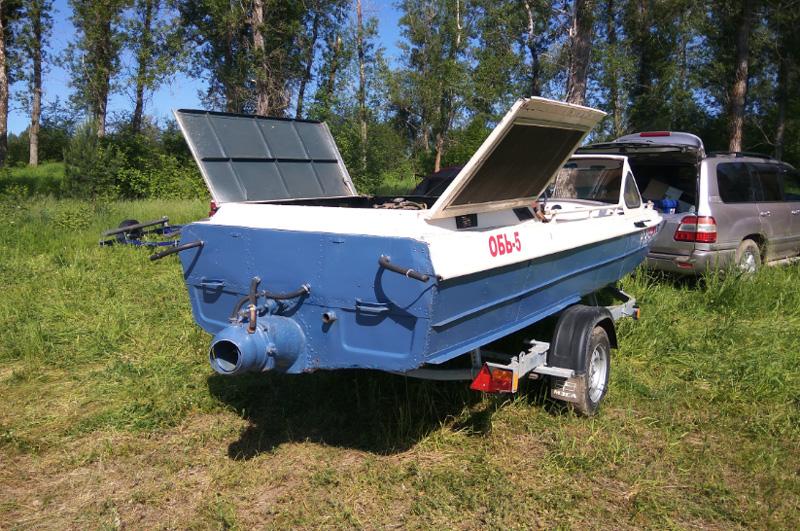 Обь-5 лодка