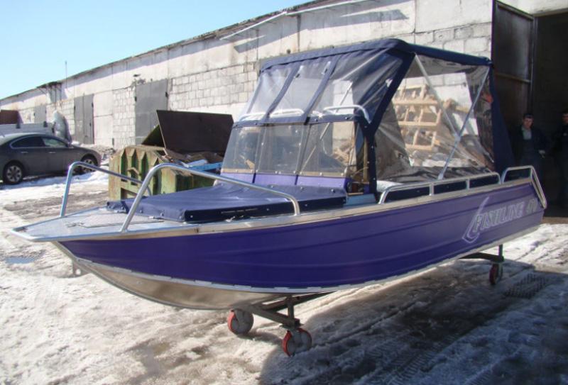 Лодка Fishline 470