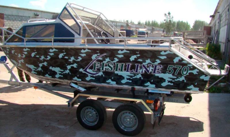 Fishline 570 (рубка)