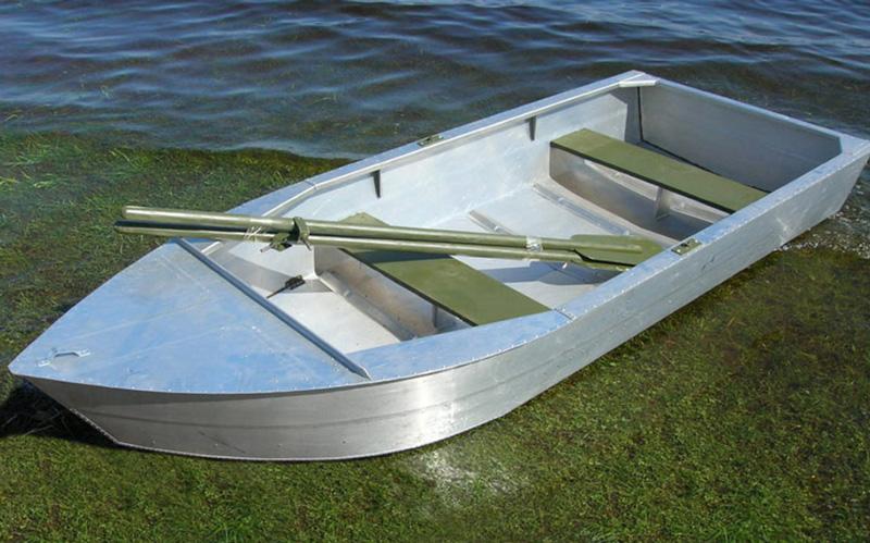 Алюминиевая лодка Малютка-Н
