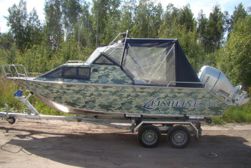 Алюминиевая лодка Петрокаб