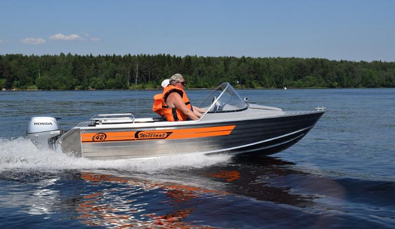 Алюминиевые лодки Wellboat