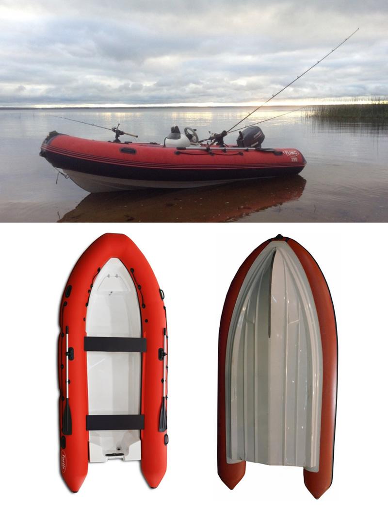 Лодка РИБ Flink 390