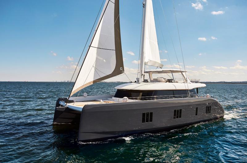 Яхта катамаран Sunreef 80