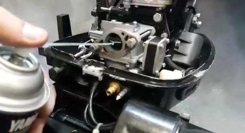Консервация двухтактного лодочного мотора на зиму