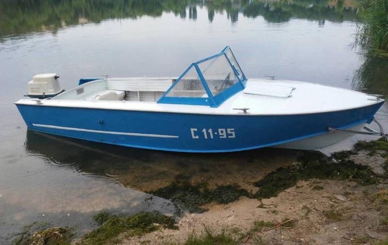 Обновленная лодка Прогресс 4