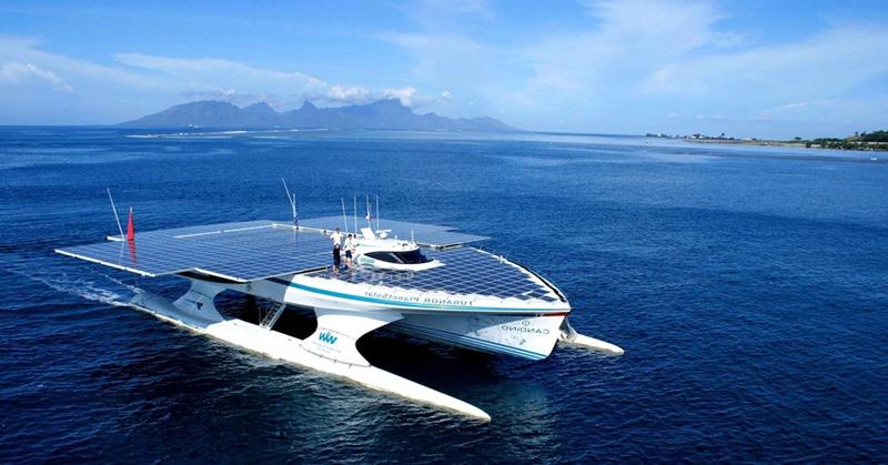 Яхта Жерара д'Абовилля