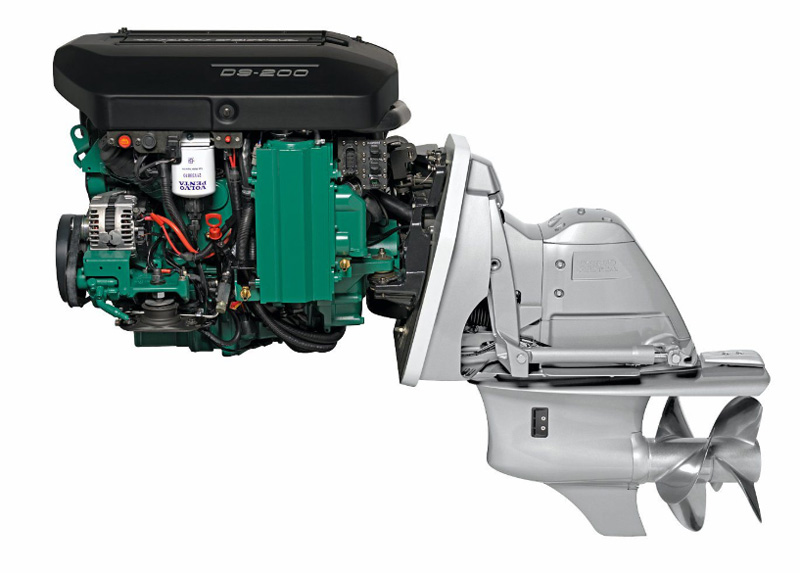 Двигатель для яхты Volvo Penta D9-200 200 л.с.