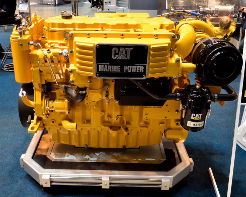 Мотор Caterpillar marine
