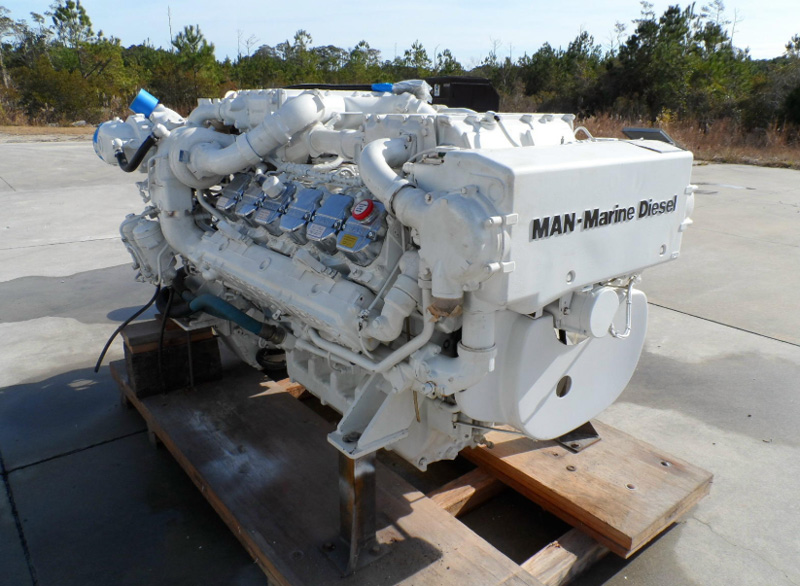 Мотор MAN marine