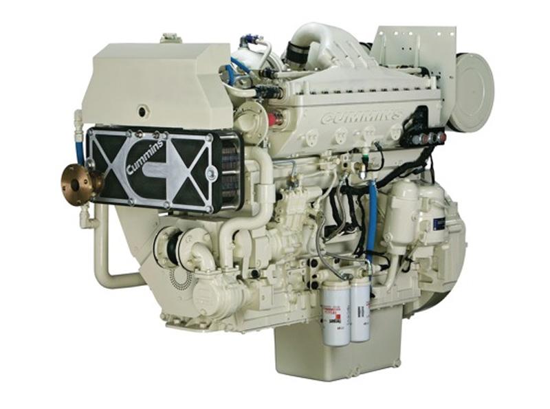 Двигатели Cummins для яхт и кораблей