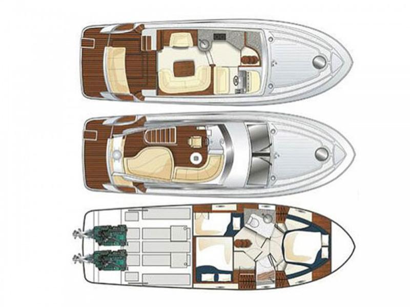 Яхта Галеон 390 Fly