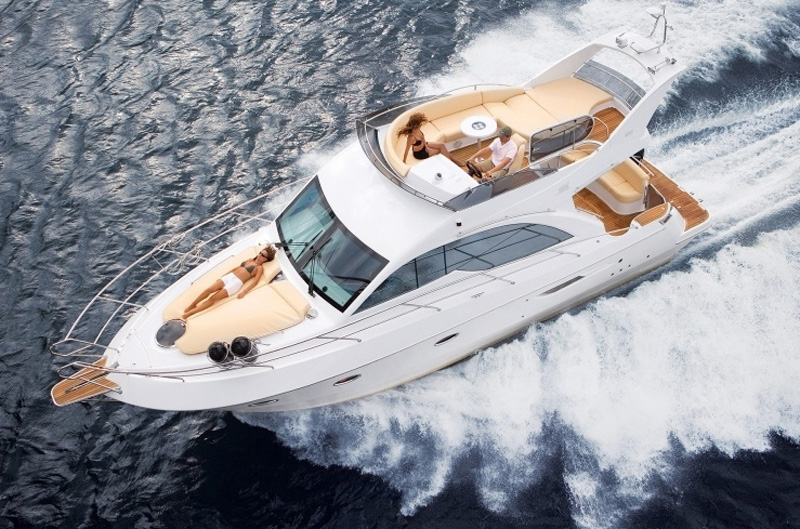 Моторные яхты до 12 метров