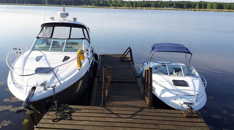 Мостки (вымосток) для лодок и катеров