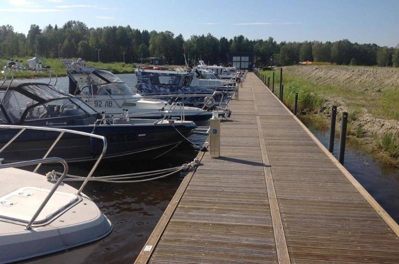 Пирсы для лодок и катеров