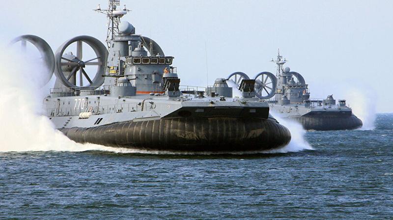 Катера на воздушной подушке ВМС РФ