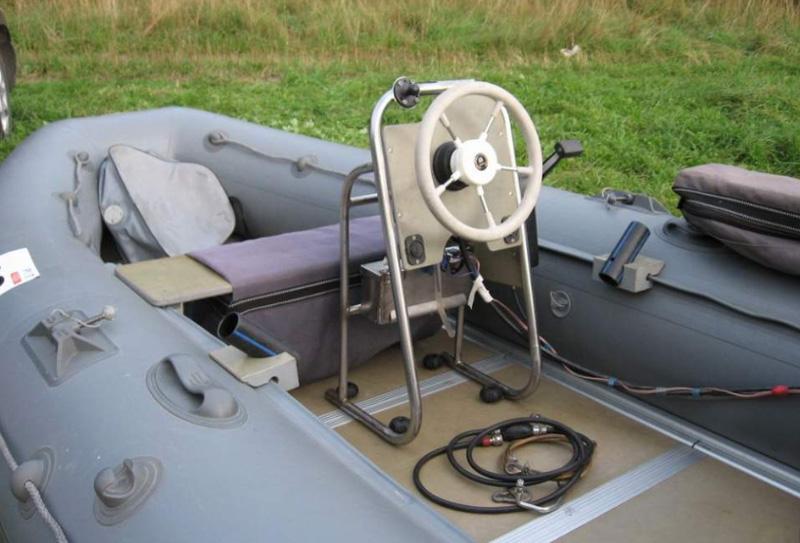 Дистанционное управление на лодку ПВХ механического типа