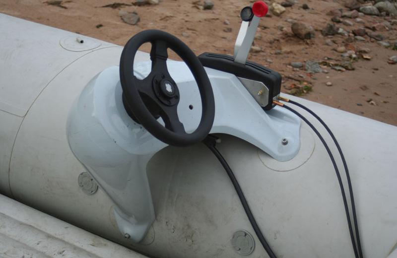 Механическая дистанция на лодочный мотор
