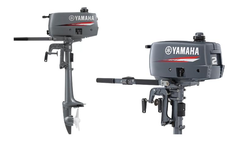 Мотор 2 л.с. Yamaha 2 CMHS