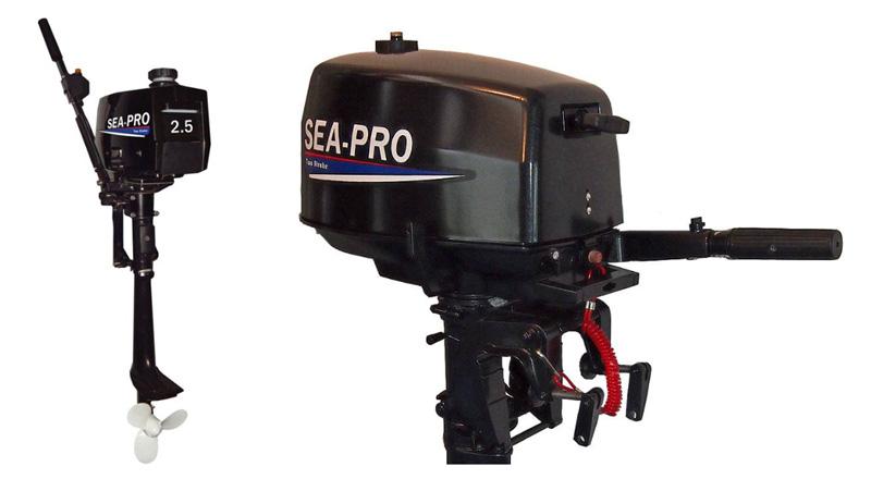 Мотор лодочный 2 л.с. Sea-Pro T2.5S