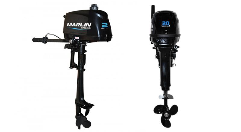 Лодочный мотор 2 л.с. Marlin 2HP AMHS