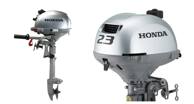 Мотор лодочный 2 л.с. Honda BF 2.3