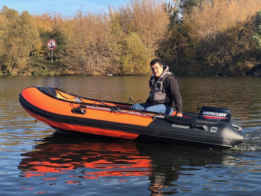 Комплектация лодки и доступный опционал